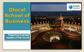 Glocal School of Business