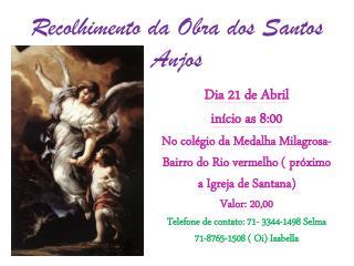 Recolhimento da Obra dos Santos Anjos