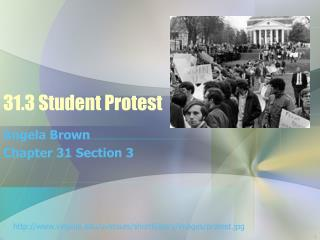 31.3 Student Protest