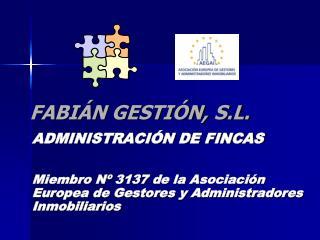 FABIÁN GESTIÓN, S.L.