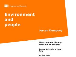Environment  and  people