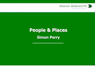 People & Places Simon Perry