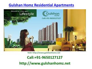 Gulshan Homz Vivante Residential Project in Noida