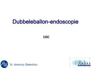 Dubbeleballon-endoscopie