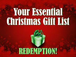 Your Essential Christmas Gift List