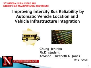 Improving Intercity Bus Reliability by    Automatic Vehicle Location and