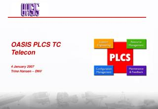 OASIS PLCS TC Telecon 4 January 2007 Trine Hansen – DNV