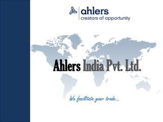 Ahlers India Pvt. Ltd.