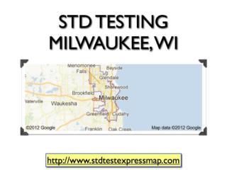 STD Testing Milwaukee