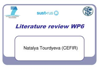 Literature review WP6