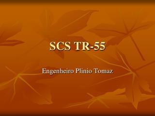 SCS TR-55