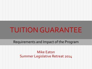 Tuition Guarantee