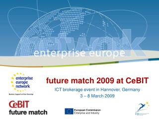future match 2009 at CeBIT