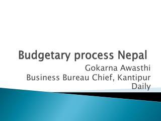 Budgetary process Nepal