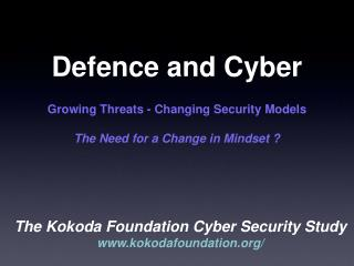 Defence and Cyber