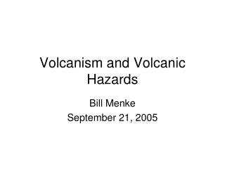 The Infamous Volcano: Mt. Pel e
