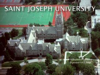 Saint Joseph university