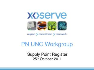 PN UNC Workgroup