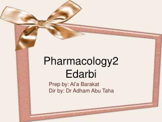 Edabri antihypertensive drug