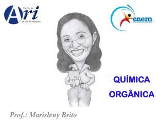 Prof.:  Marisleny  Brito
