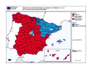 La cohesión en el periodo 2007-2013. Millones de euros corrientes