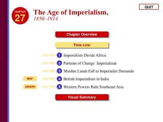 The Age of Imperialism,  1850�1914