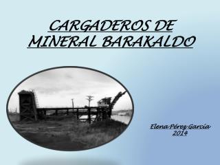 CARGADEROS DE  MINERAL BARAKALDO
