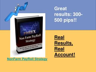 NonFarm PayRoll Strategy Review