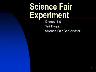 Science Fair Experiment