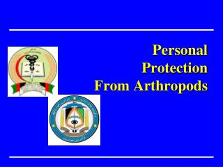 Personal Protection From Arthropods
