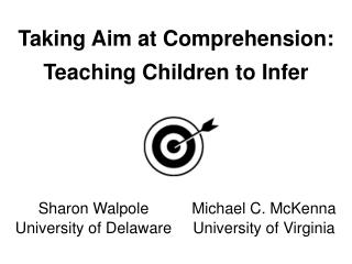 Taking Aim at Comprehension: Teaching Children to Infer