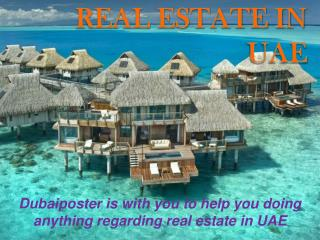 Real Estate in UAE
