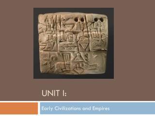 Unit I: