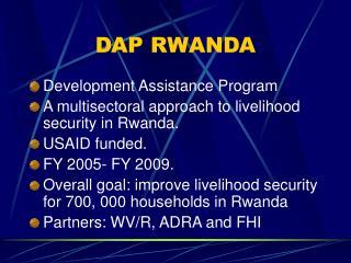 DAP RWANDA