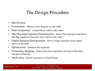 The Design Procedure