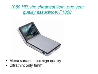 1080 HD, the cheapest item, one year quality assurance: F1000
