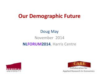 Our Demographic Future