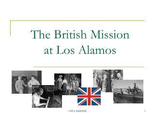 The British Mission  at Los Alamos