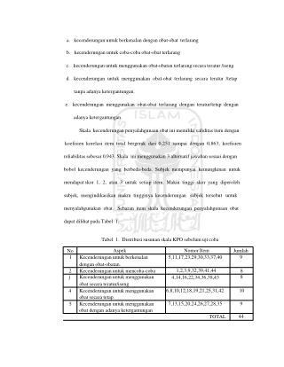 a.   kecenderungan untuk berkenalan dengan obat-obat  terlarang