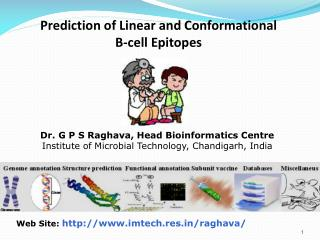 Prediction of Linear and Conformational B-cell Epitopes