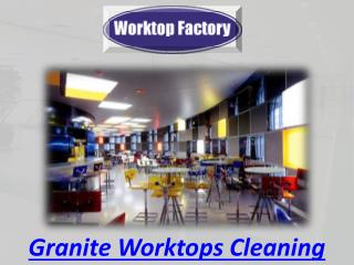 Granite Worktops Cleaning