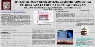 IMPLEMENTACION DE UN SISTEMA DE SUPERVICION DE UNA CALDERA PARA LA EMPRESA DISTRICALDERAS S.A.S.