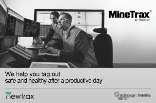 We help you tag out safe and healthy after a productive day
