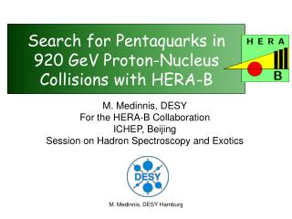 Search for Pentaquarks in 920 GeV Proton-Nucleus Collisions with HERA-B