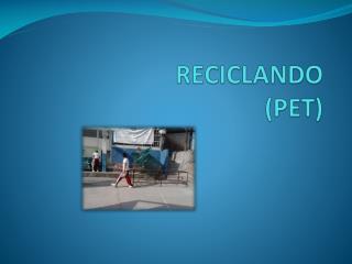 RECICLANDO  (PET)