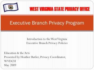 Executive Branch Privacy Program