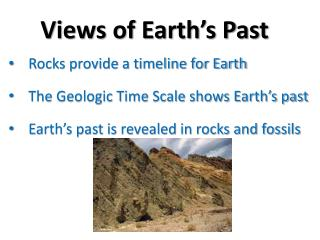 Views of Earth's Past