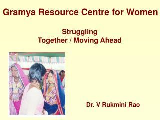 Dr. V Rukmini Rao