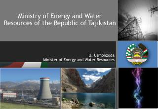 Ministry of Energy and Water Resources of the Republic of Tajikistan