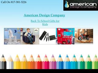Cool Back to School Gifts for Kids Online
